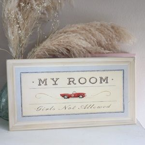 Other - Angela Staehling wooden plaque for boys room